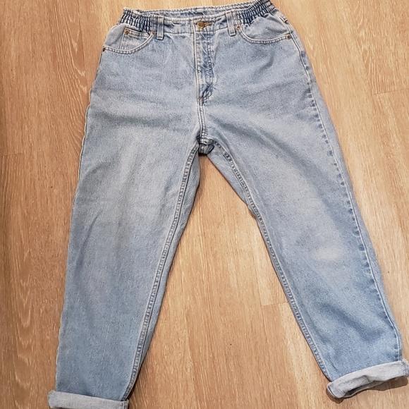 L.L. Bean Denim - L.L. Bean Light Blue High-Waisted Comfort Jeans 6P